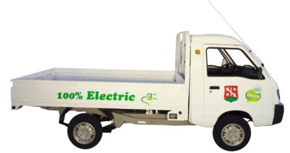 Elektrotransporter Vorführer