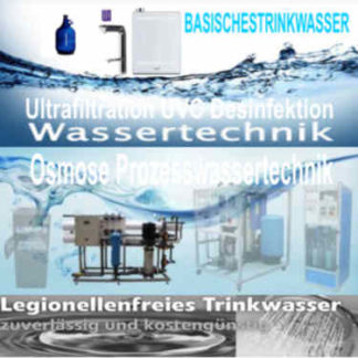 Wasseraufbereitungtechnologien