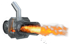 Brenner 8 - 36 kW Rotierender Pelletbrenner